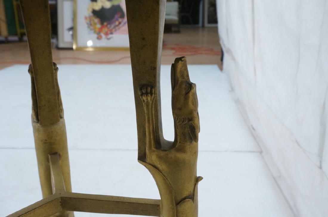 Gilt Bronze Antique Gueridon Table. Round top sup - 4