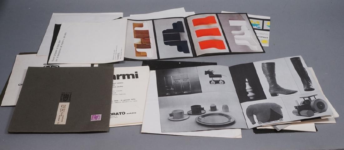 "Lot Of Modern Design Ephemera. ""Danese Milano""; E"