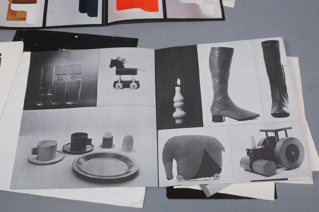 "Lot Of Modern Design Ephemera. ""Danese Milano""; E - 2"