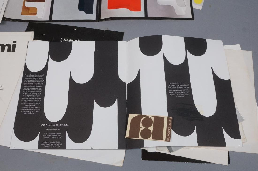 "Lot Of Modern Design Ephemera. ""Danese Milano""; E - 3"
