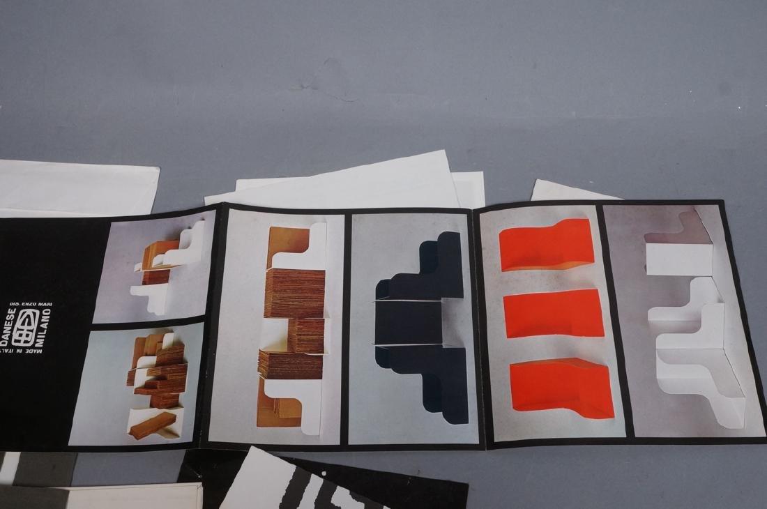 "Lot Of Modern Design Ephemera. ""Danese Milano""; E - 5"