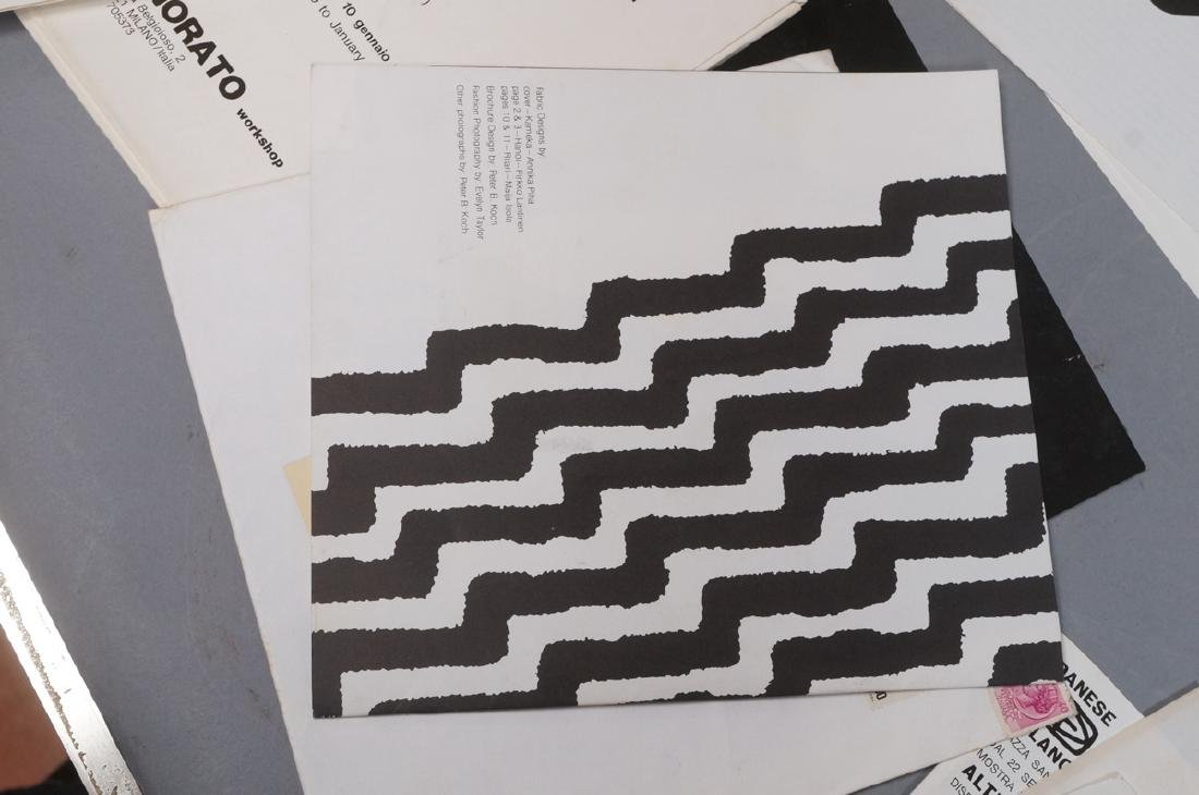 "Lot Of Modern Design Ephemera. ""Danese Milano""; E - 7"