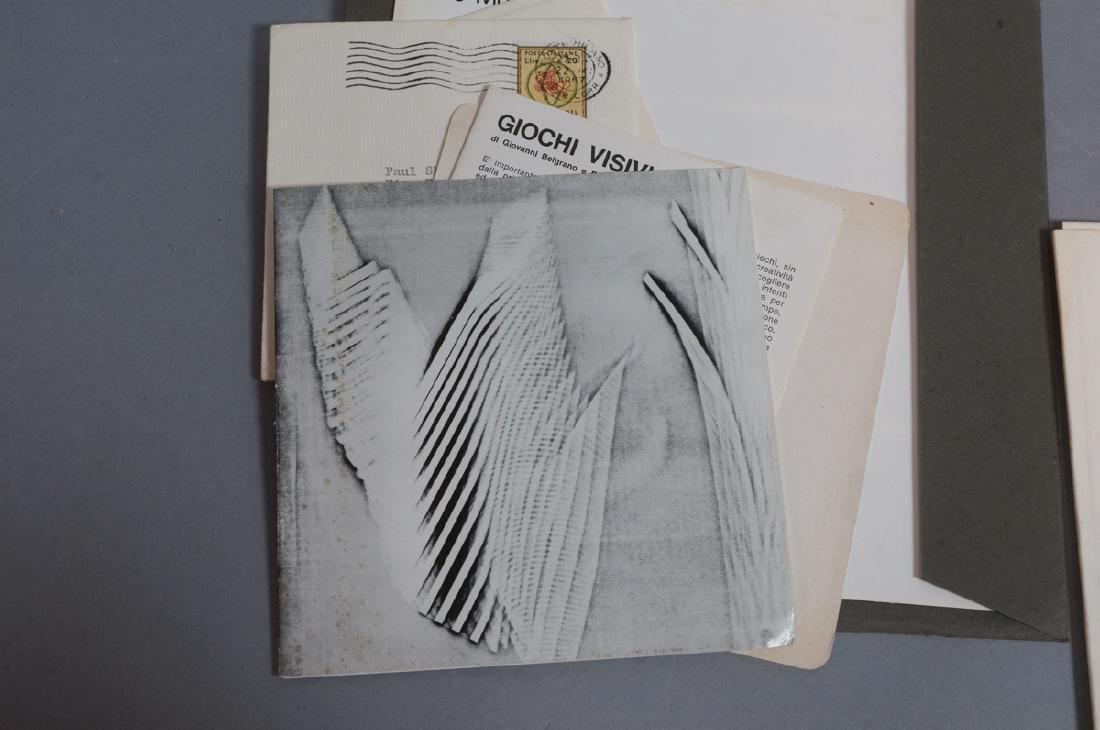 "Lot Of Modern Design Ephemera. ""Danese Milano""; E - 9"
