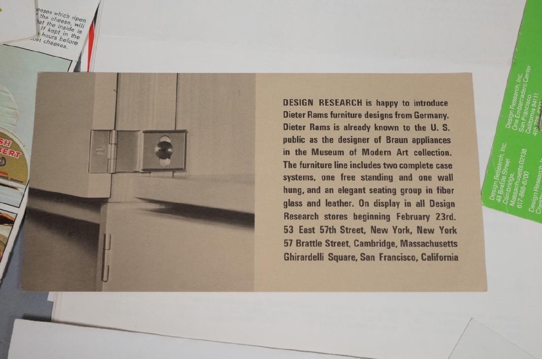 DESIGN RESEARCH Pamphlets including MARIMEKKO Tex - 5