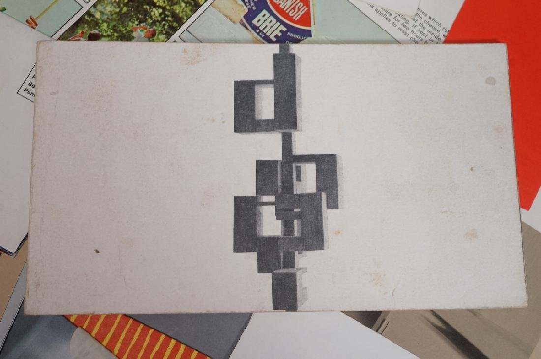 DESIGN RESEARCH Pamphlets including MARIMEKKO Tex - 6