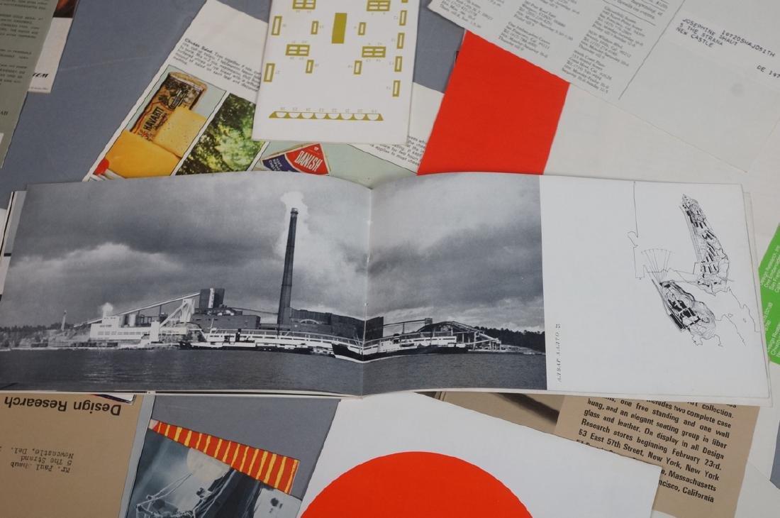 DESIGN RESEARCH Pamphlets including MARIMEKKO Tex - 8