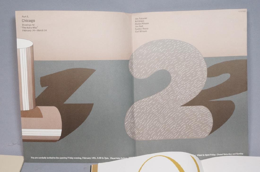 Lot Of Modern Design & Fine Arts Ephemera. Philad - 7