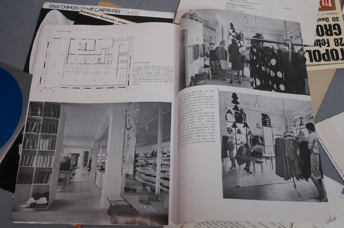 Lot Modern Design, Fine Arts Ephemera. ROY LICHTE - 10