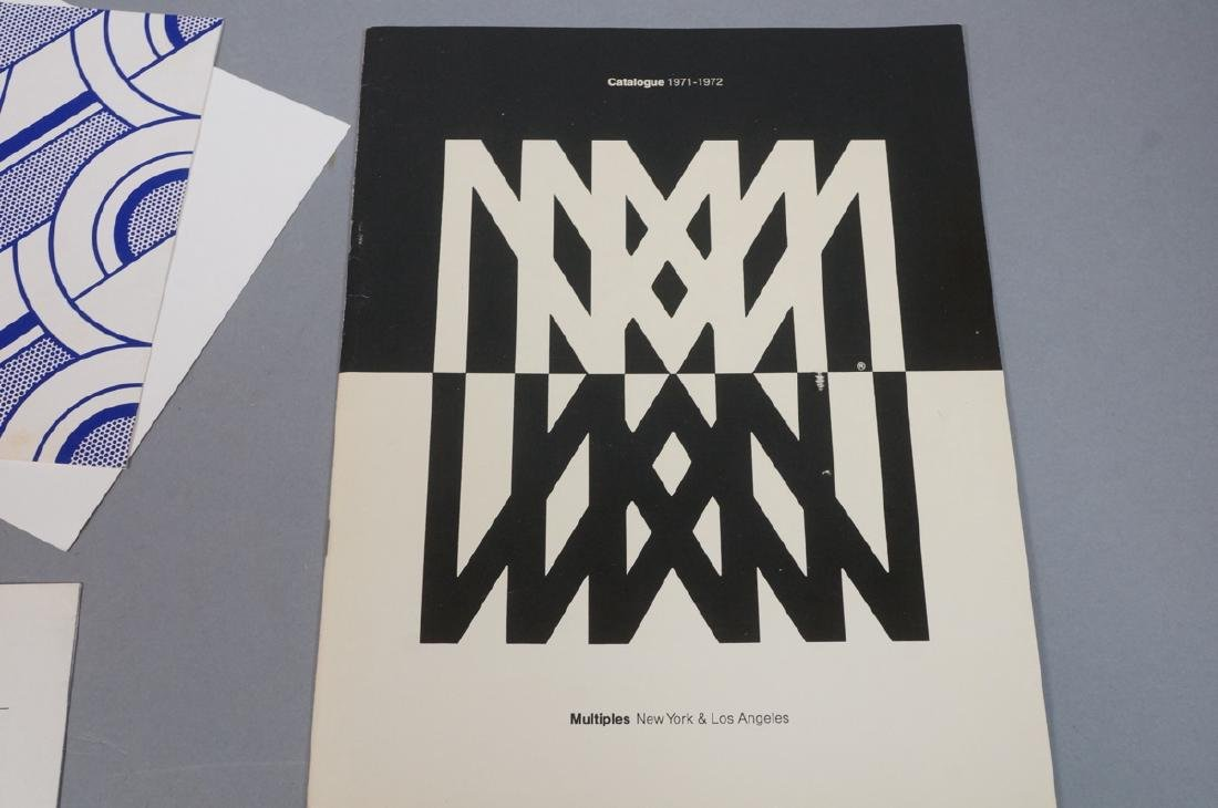 Lot Modern Design, Fine Arts Ephemera. ROY LICHTE - 5