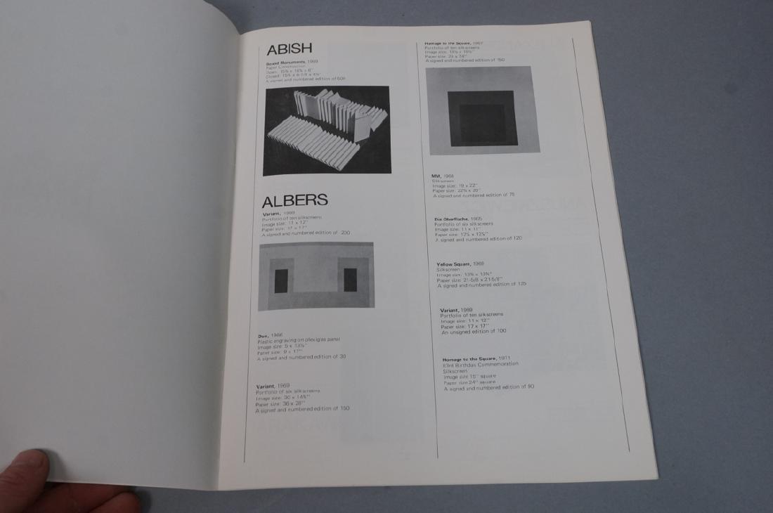 Lot Modern Design, Fine Arts Ephemera. ROY LICHTE - 6