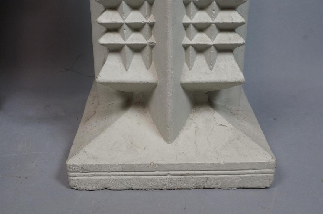 Pr FRANK LLOYD WRIGHT style Concrete Planters. Ta - 4