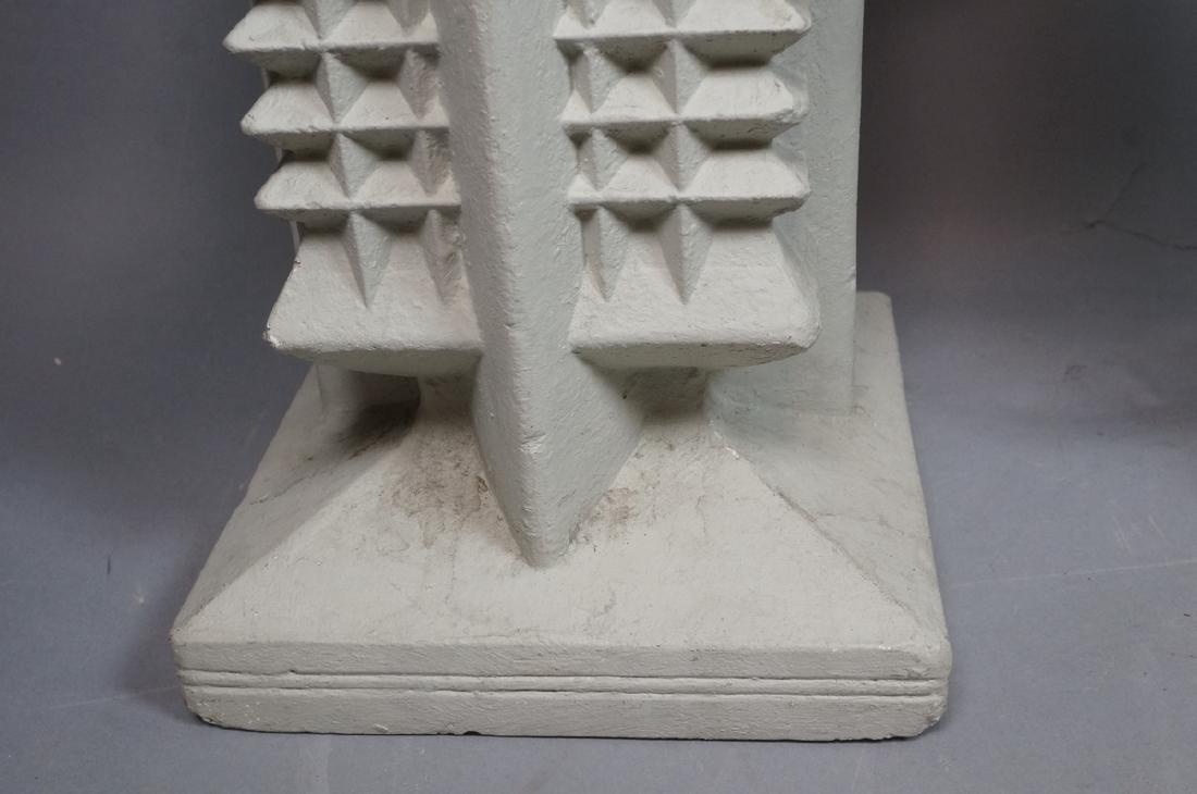 Pr FRANK LLOYD WRIGHT style Concrete Planters. Ta - 5