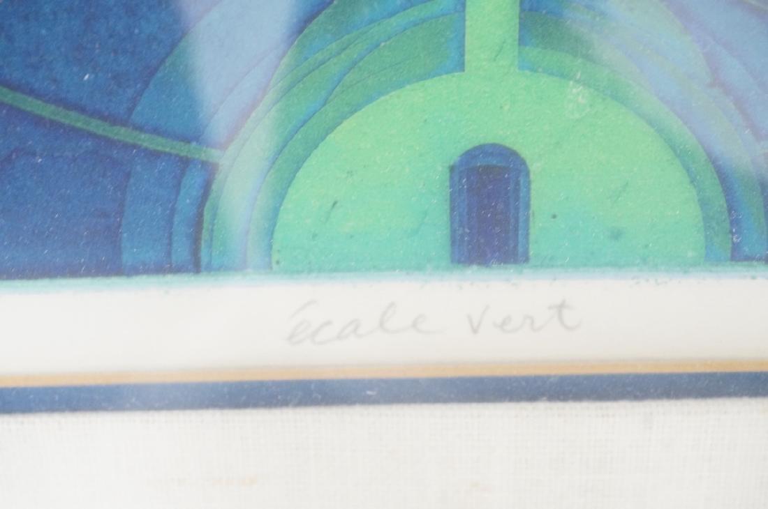 """YASUYUKI KIHARA """"Ecole Vert""""  Blue Green Industri - 7"""