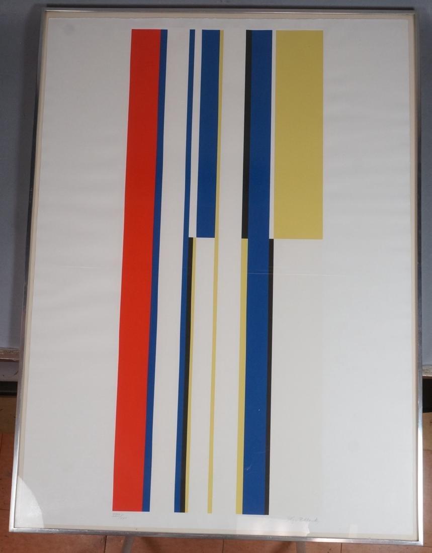 ILYA BOLOTOWSKY Graphic Silkscreen Print. Primary