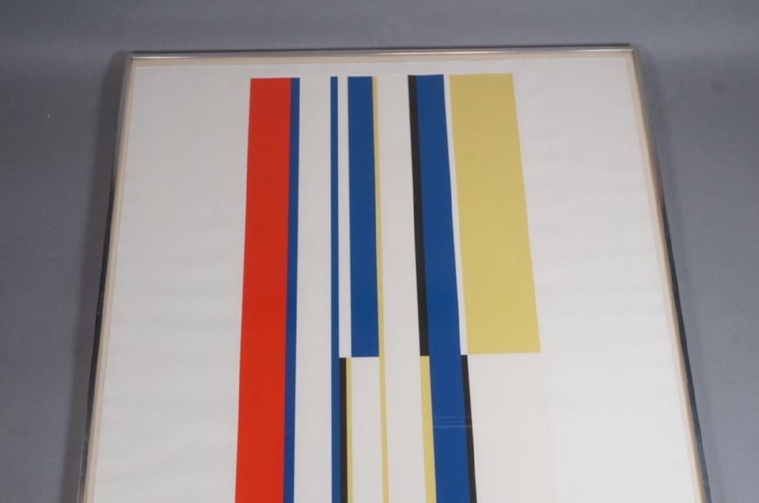 ILYA BOLOTOWSKY Graphic Silkscreen Print. Primary - 4