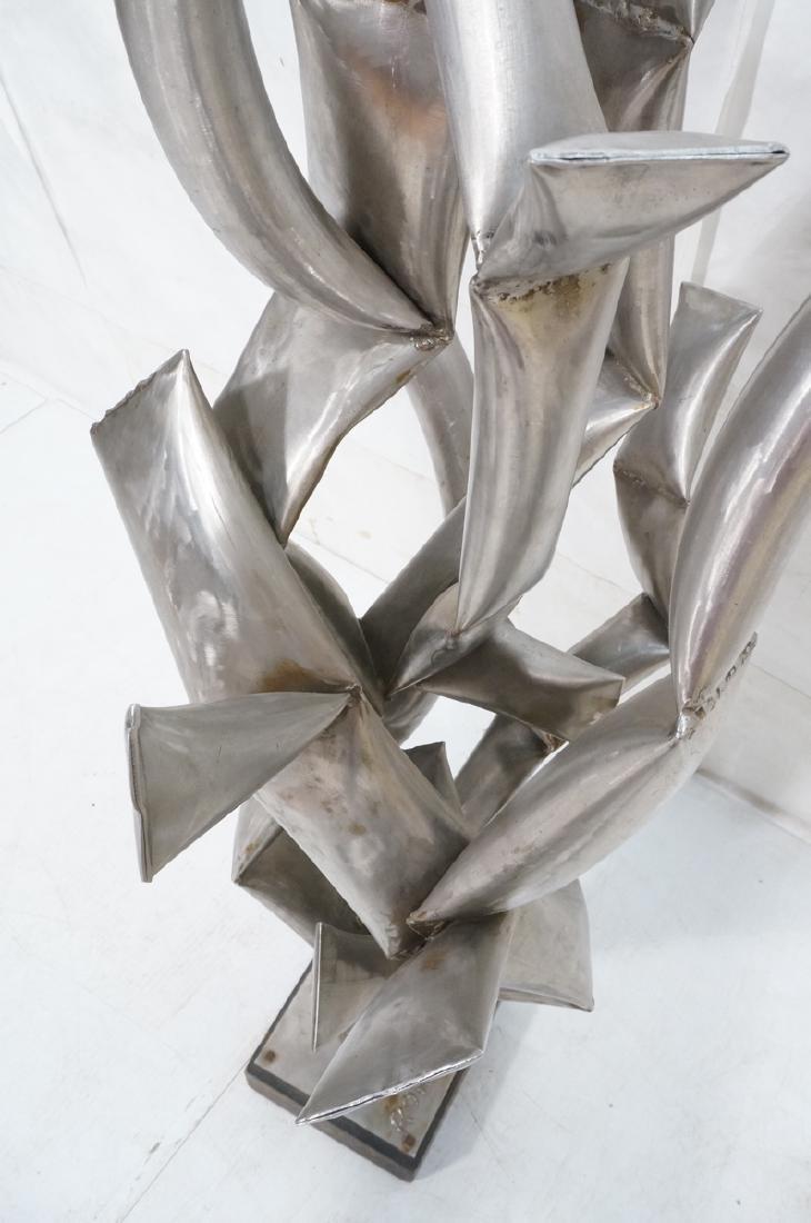ROHOSKY signed Brutalist Steel Floor Sculpture. I - 8