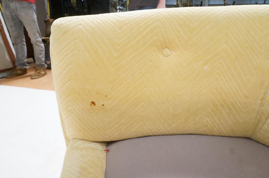 Pr Milo Baughman style Chrome Lounge Chairs. Flat - 9