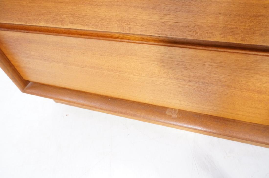 Danish Modern Teak ART FURN Six Drawer Dresser. b - 10