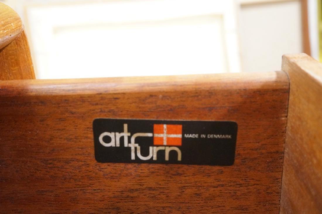 Danish Modern Teak ART FURN Six Drawer Dresser. b - 3