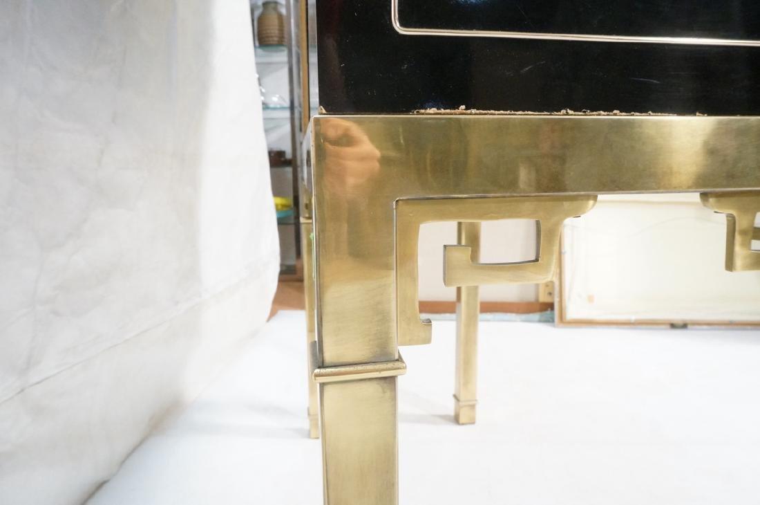 Mastercraft Cabinet on Brass Base.  Decorator Bla - 9