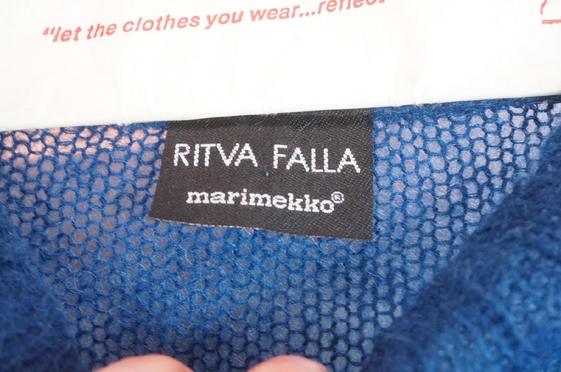 2pc Finland Wool Clothing Lot. RITVA FALLA for MA - 3