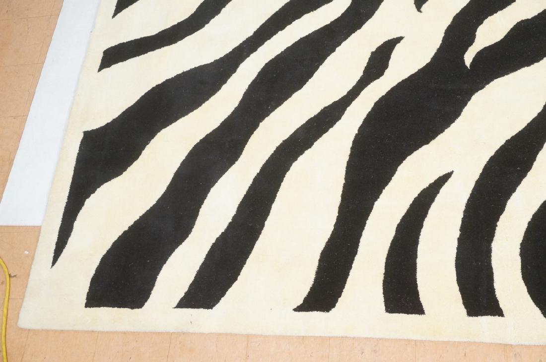 "Zebra pattern Carpet Rug 13'3"" x 9'5"" - 2"