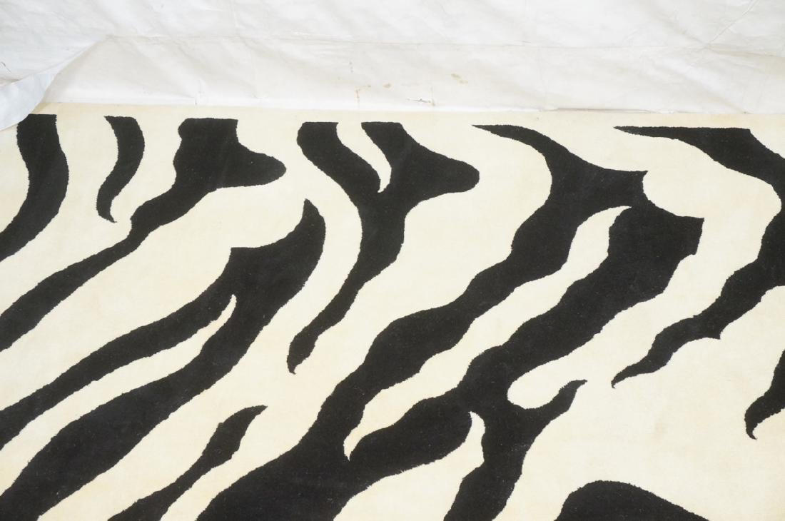 "Zebra pattern Carpet Rug 13'3"" x 9'5"" - 6"