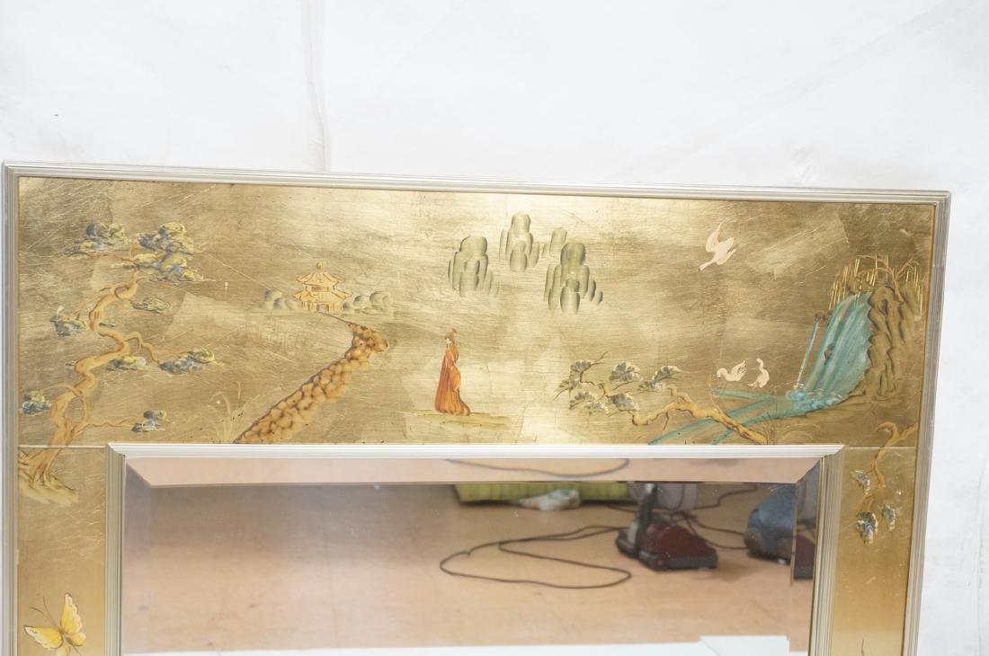 LaBARGE Eglomise Wall Mirror. Signed Wester Hof ' - 2