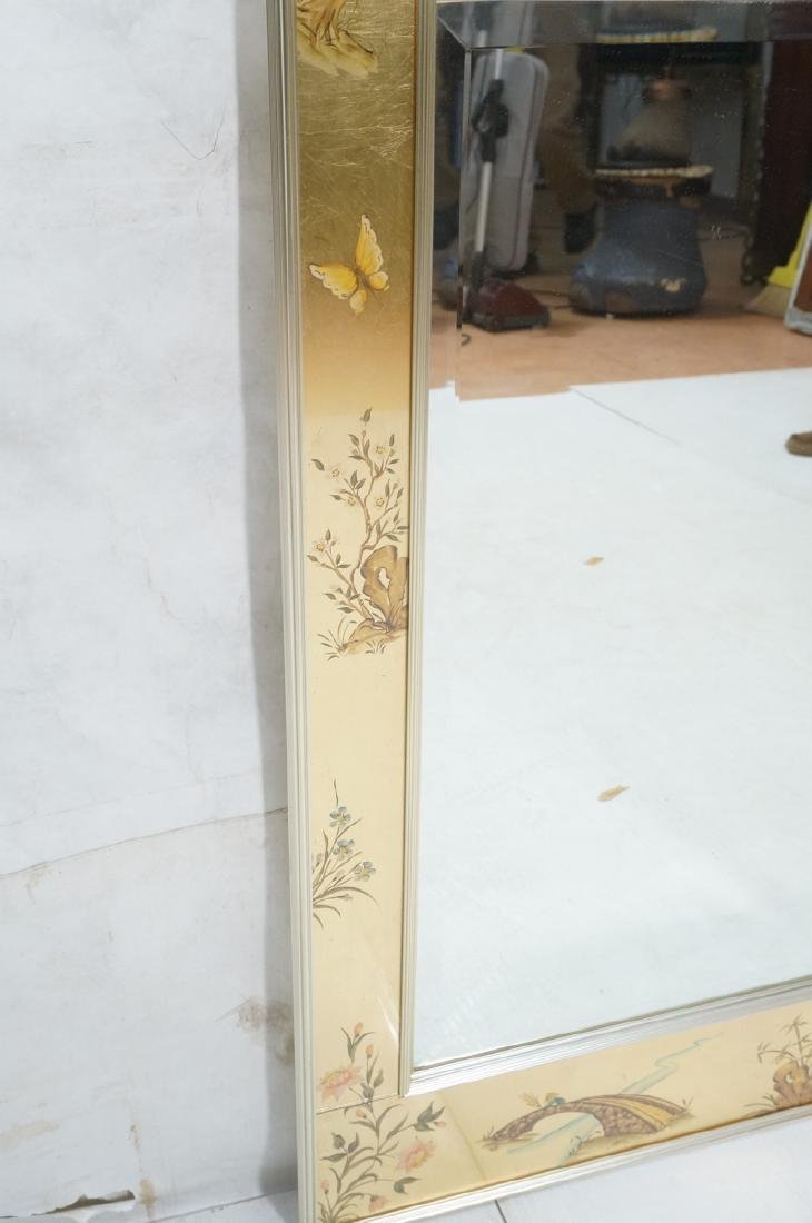 LaBARGE Eglomise Wall Mirror. Signed Wester Hof ' - 3