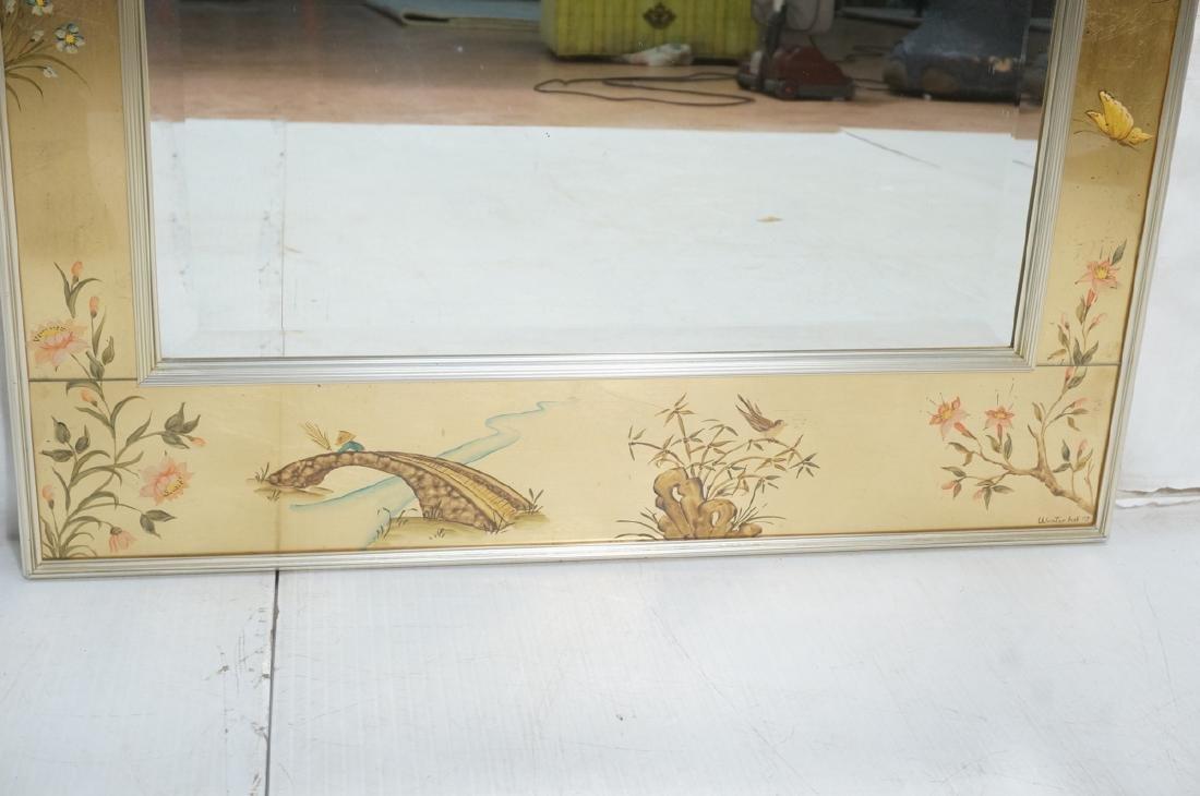 LaBARGE Eglomise Wall Mirror. Signed Wester Hof ' - 4