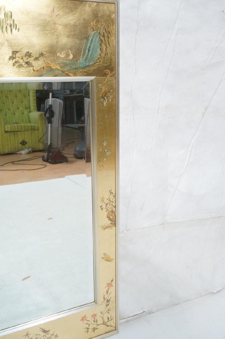 LaBARGE Eglomise Wall Mirror. Signed Wester Hof ' - 5