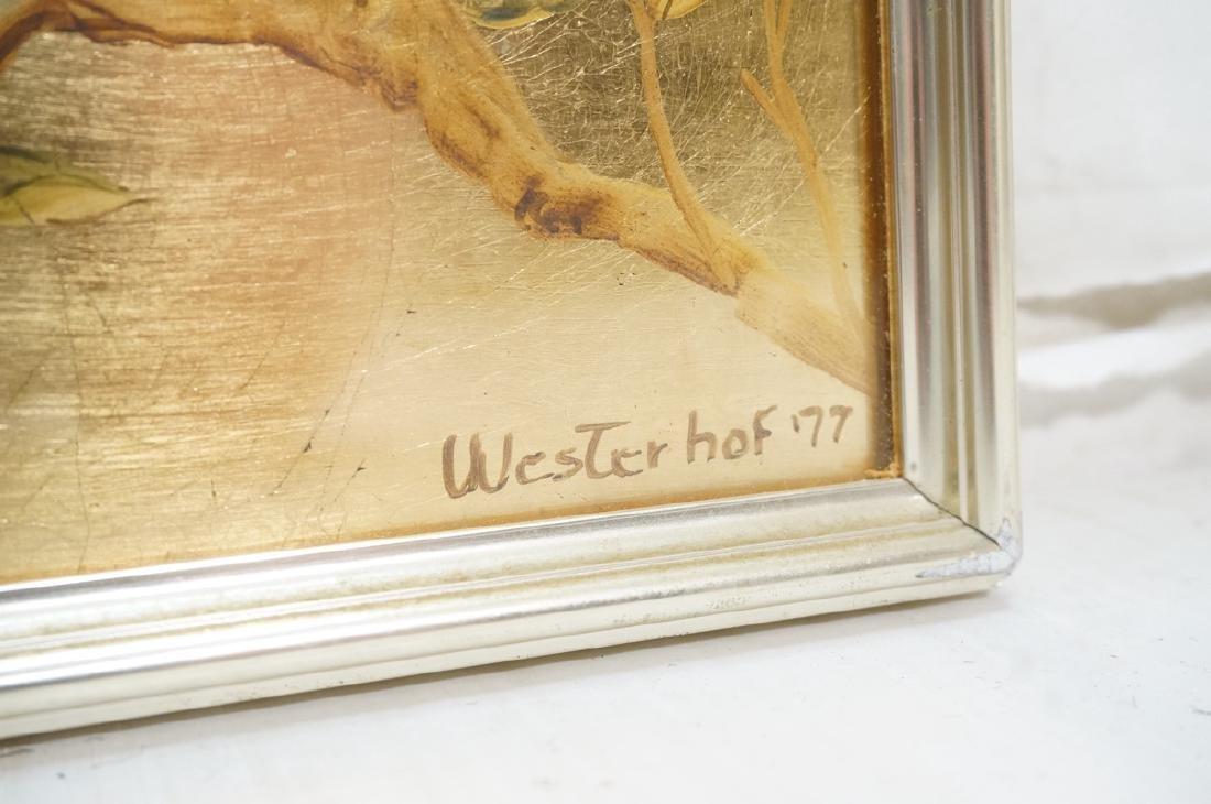 LaBARGE Eglomise Wall Mirror. Signed Wester Hof ' - 7
