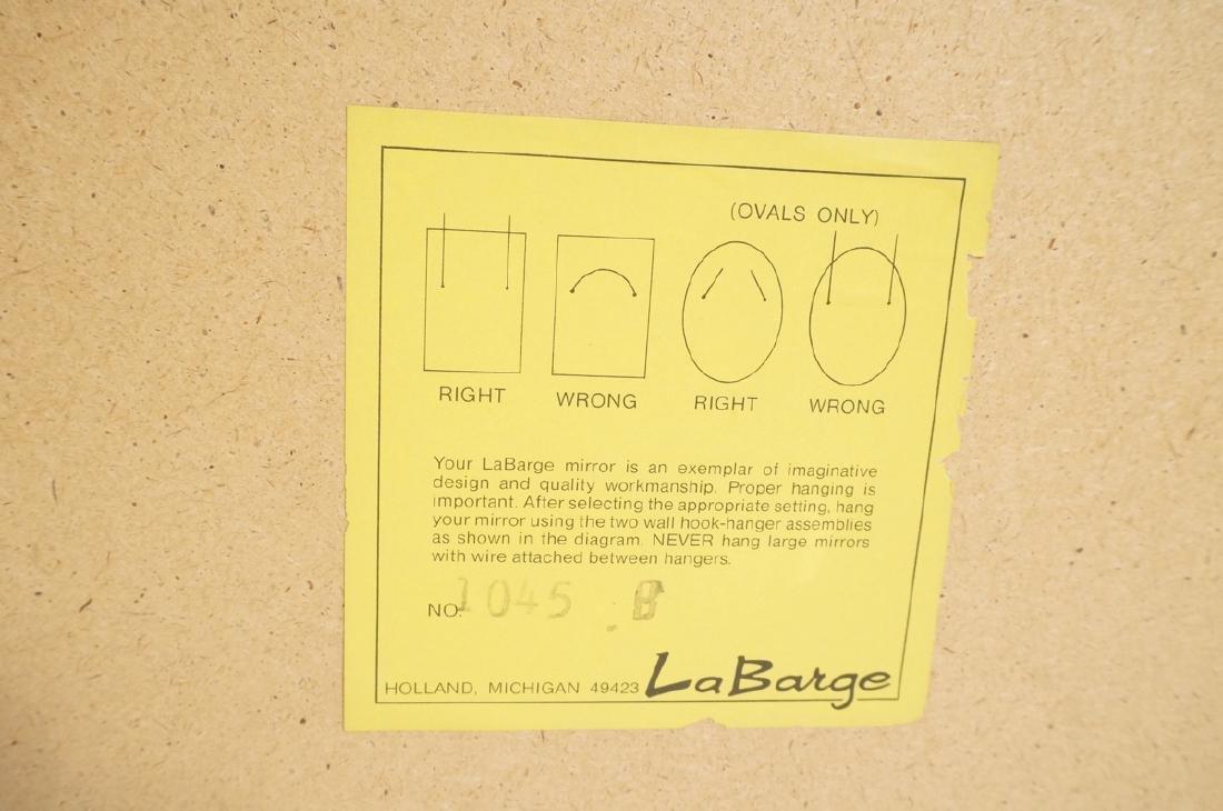 LaBARGE Eglomise Wall Mirror. Signed Wester Hof ' - 9