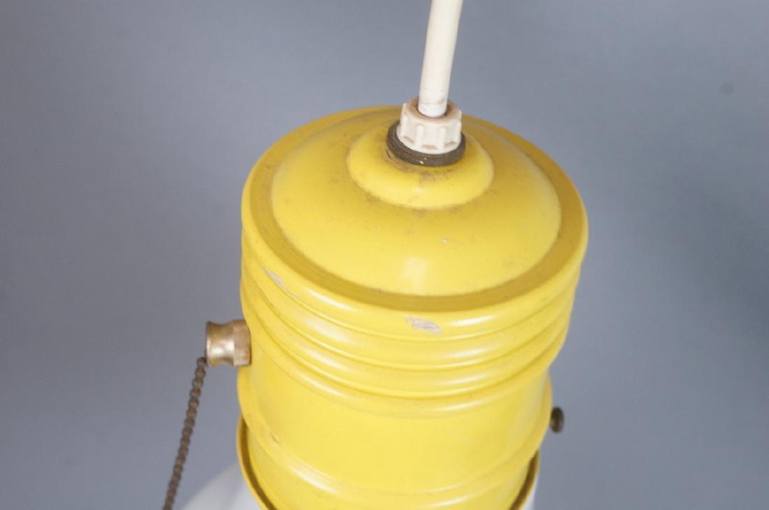 Small Modernist Light Bulb Hanging Pendant Lamp. - 3
