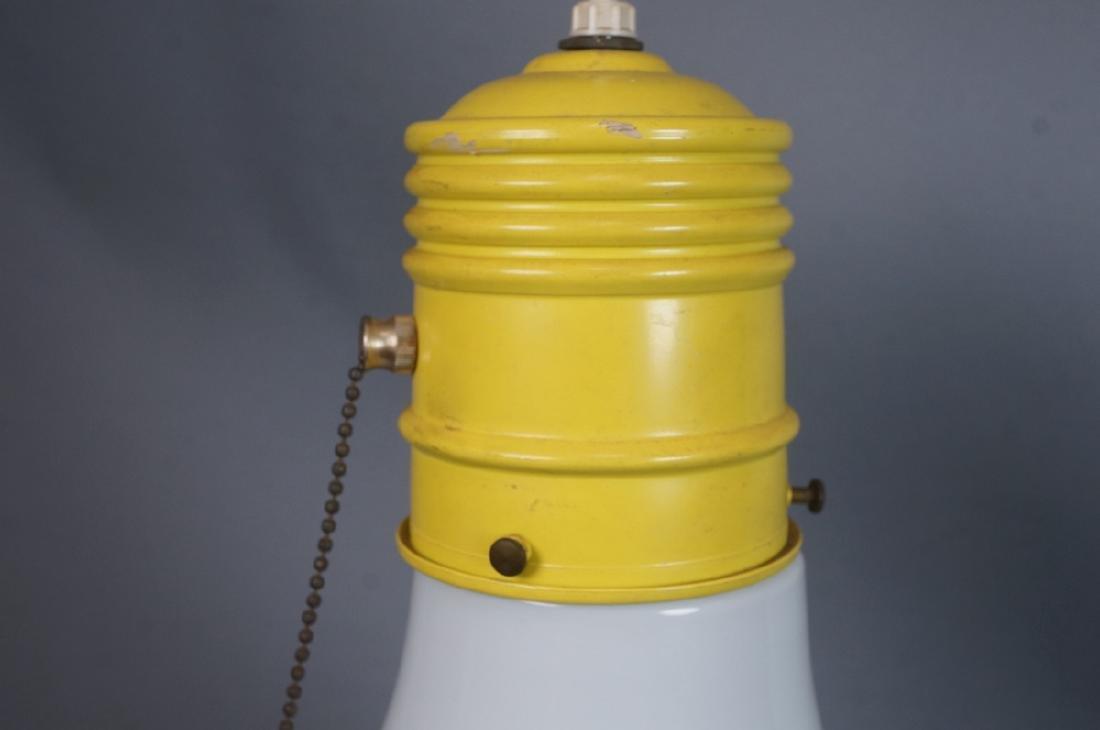 Small Modernist Light Bulb Hanging Pendant Lamp. - 4