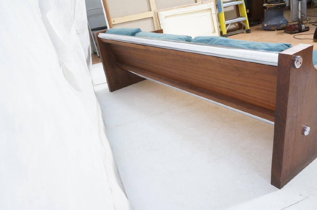Rosewood Thick Chrome Tube Sofa Couch. Thick wall - 4