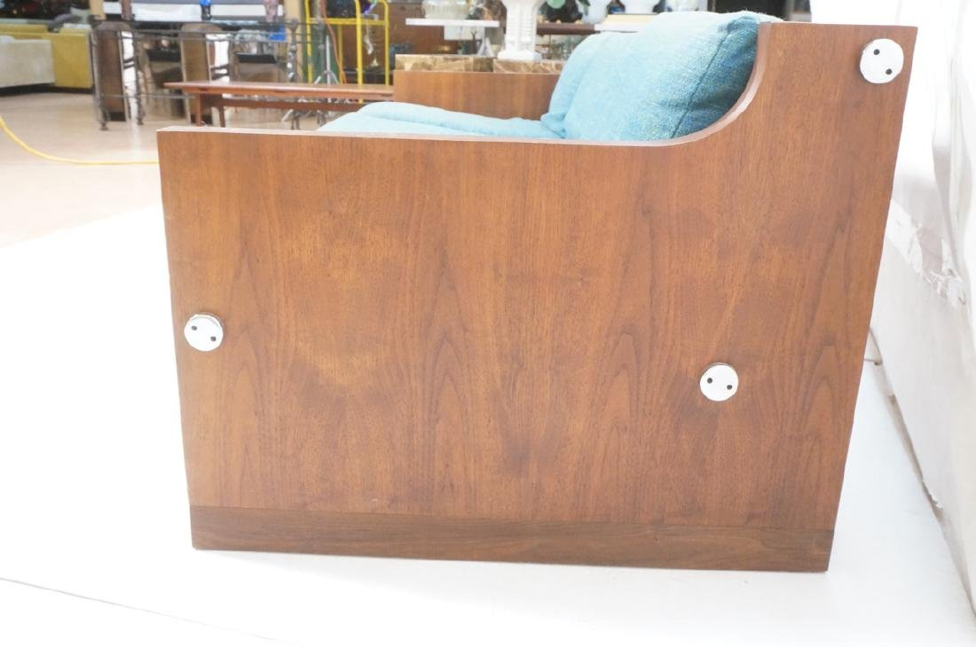 Rosewood Thick Chrome Tube Sofa Couch. Thick wall - 5