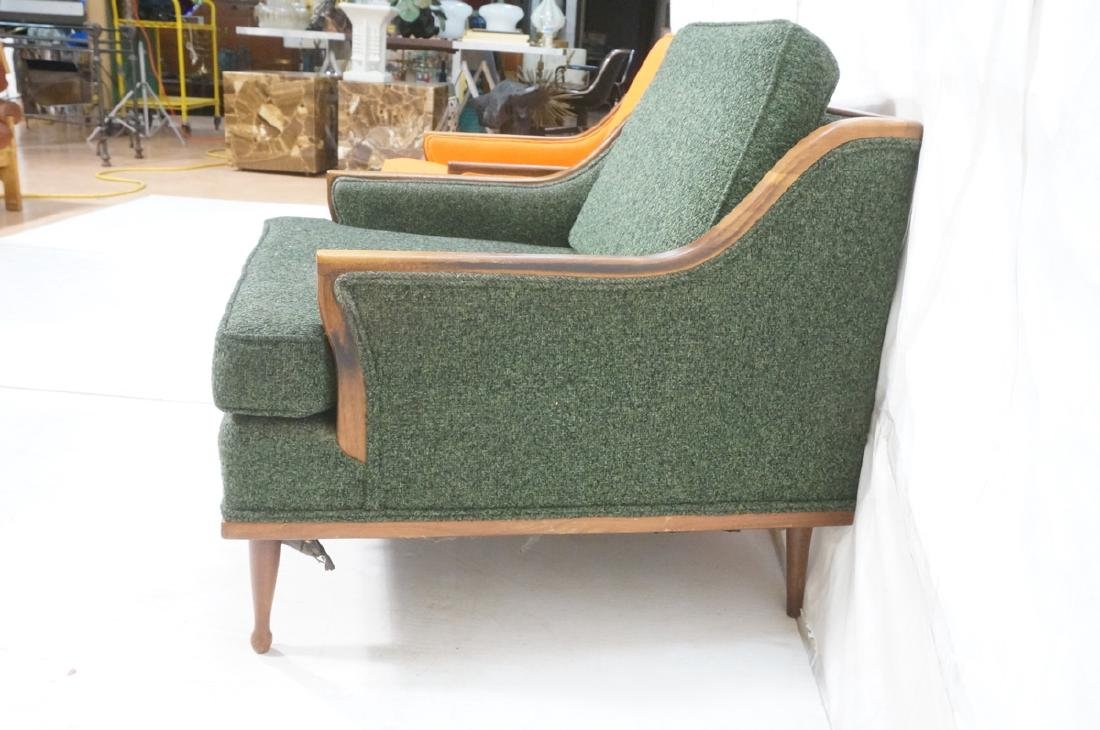 Pr American Modern Lounge Chairs. Green or Orange - 4