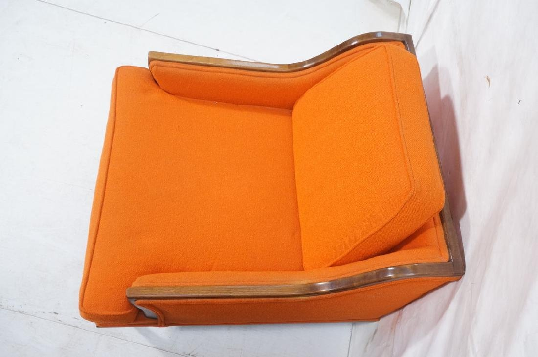 Pr American Modern Lounge Chairs. Green or Orange - 6