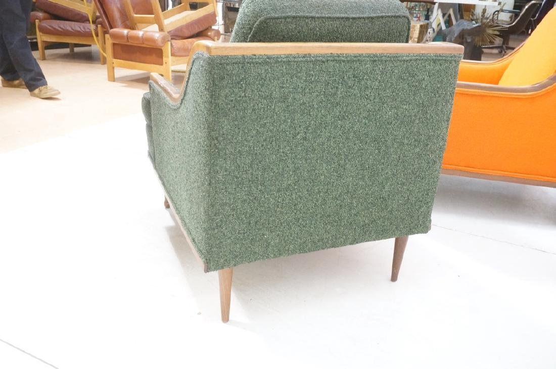 Pr American Modern Lounge Chairs. Green or Orange - 7