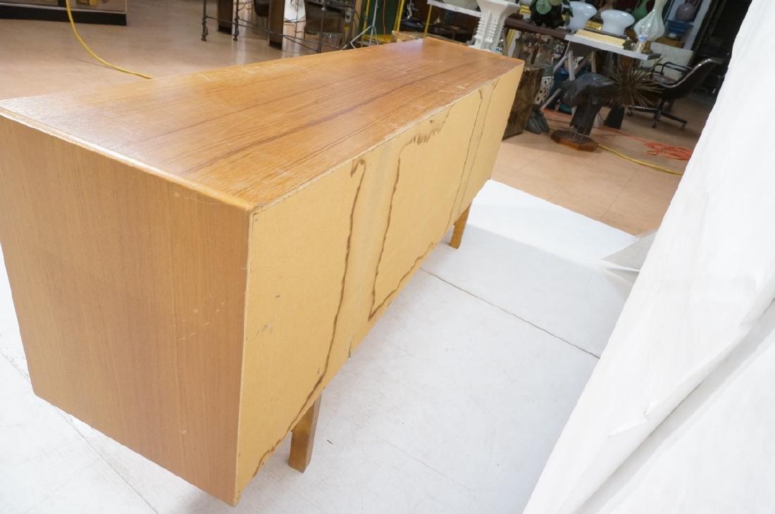 Teak Danish Modern Credenza Sideboard. Raised on - 8