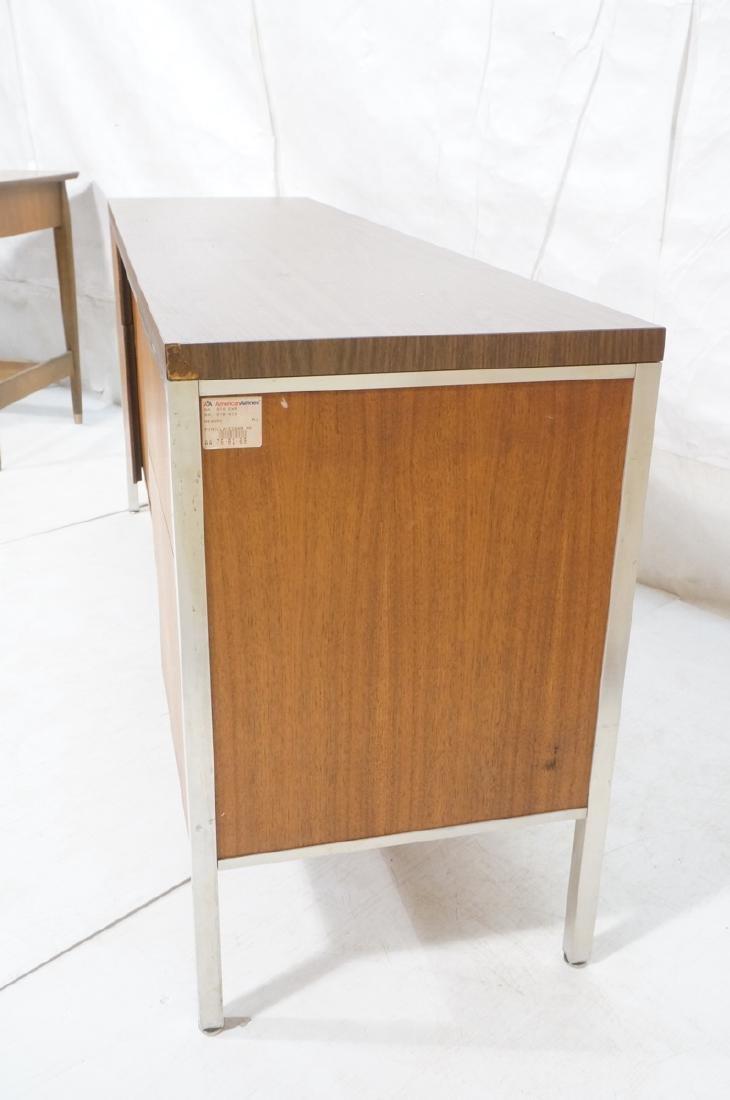 American Modern JG STANDARD Credenza. Wood grain - 3