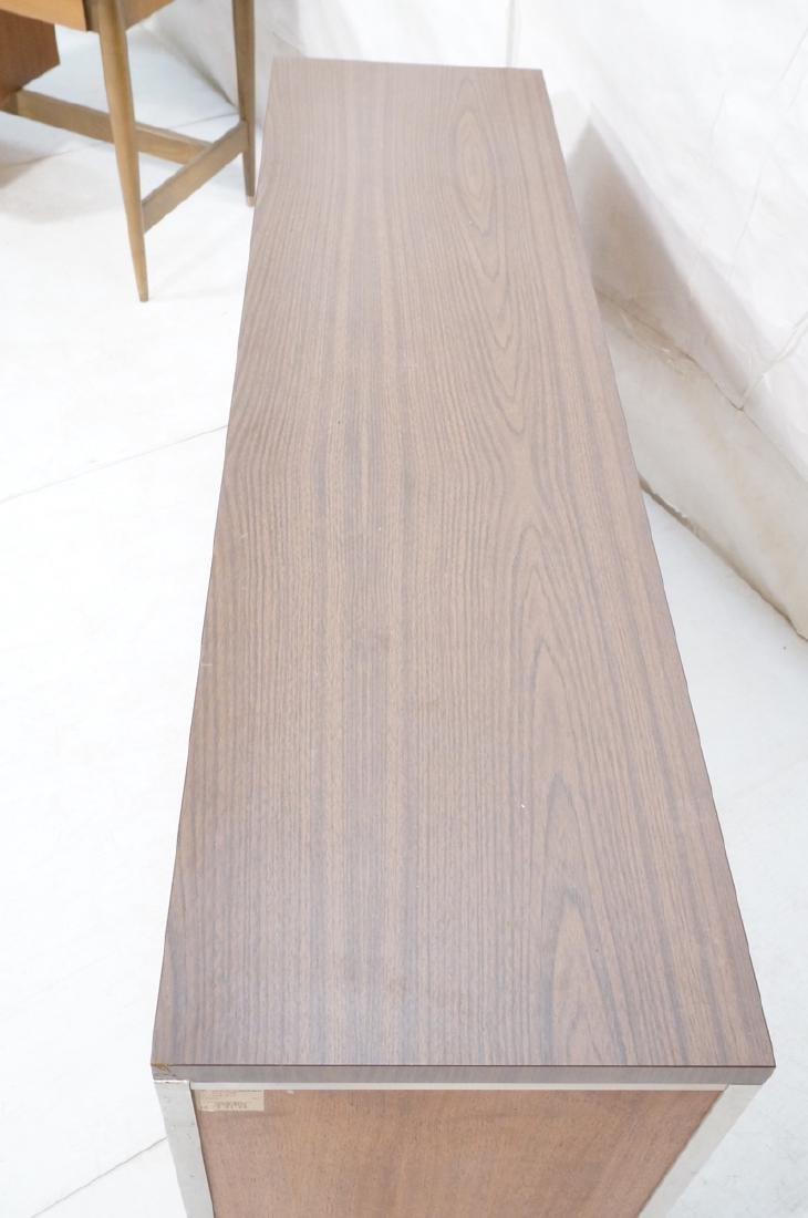 American Modern JG STANDARD Credenza. Wood grain - 4