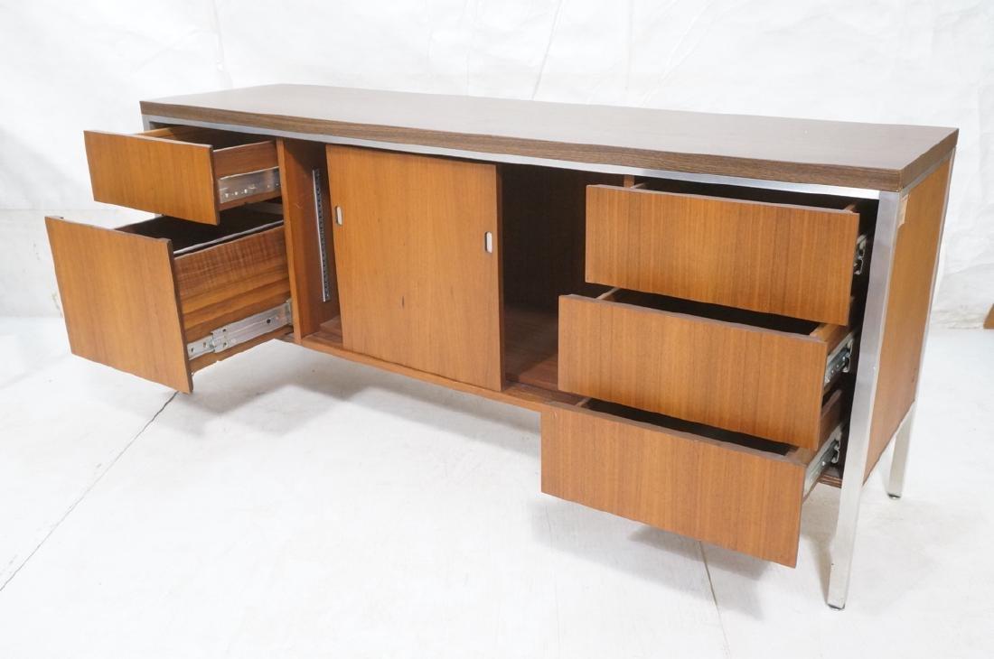 American Modern JG STANDARD Credenza. Wood grain - 8