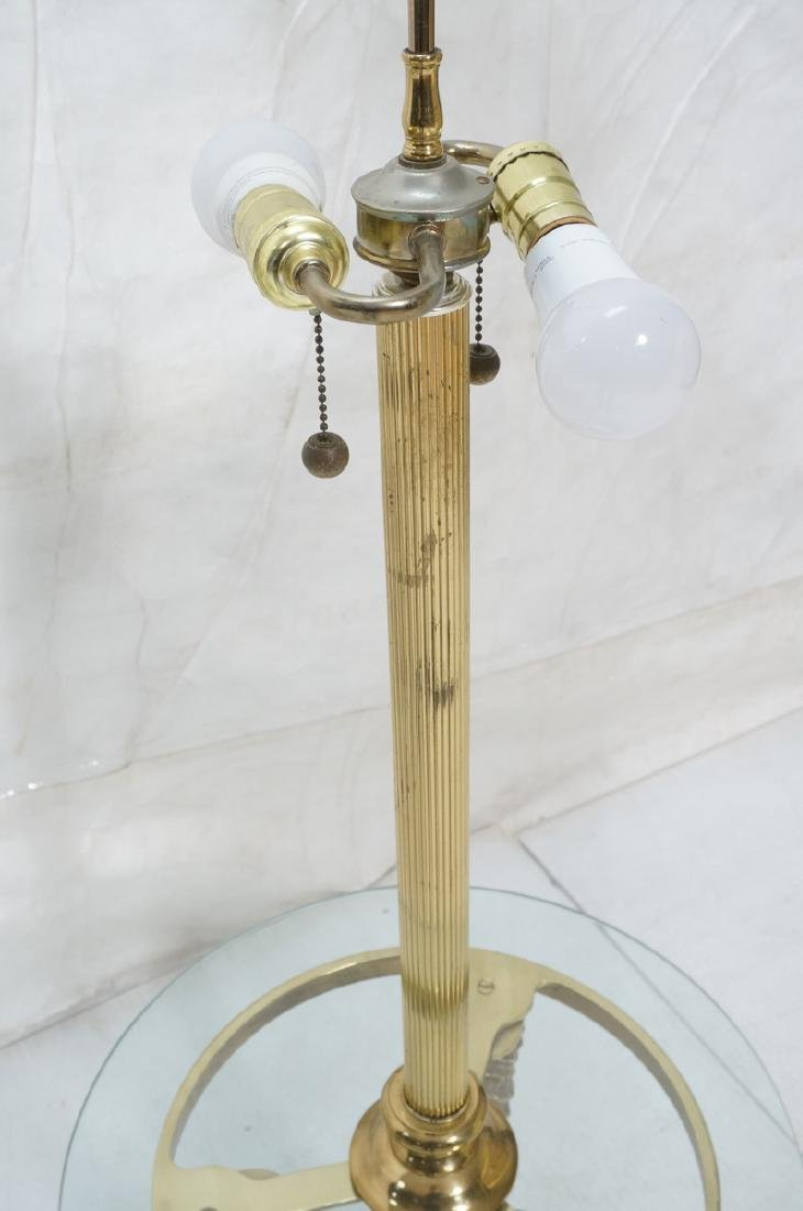 Decorator Brass Horn form Tripod Base Lamp Table. - 5