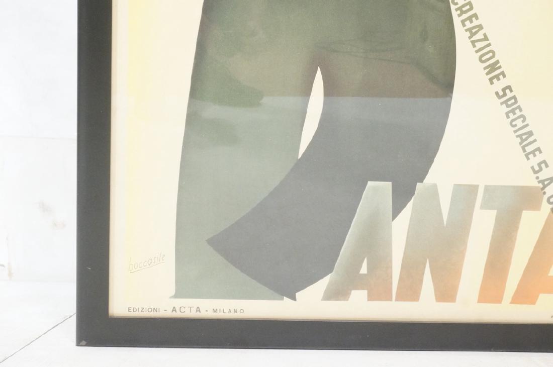 (Gino) BOCCASILE Italian Poster. Cappello Bantam. - 6
