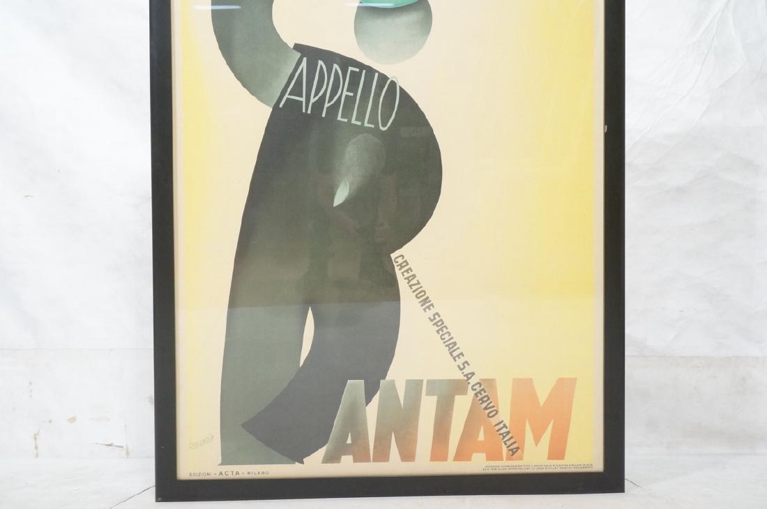 (Gino) BOCCASILE Italian Poster. Cappello Bantam. - 7