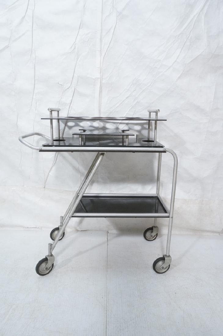 AERO-ART Prod. Retro Aluminum Rolling Bar Cart. A - 2