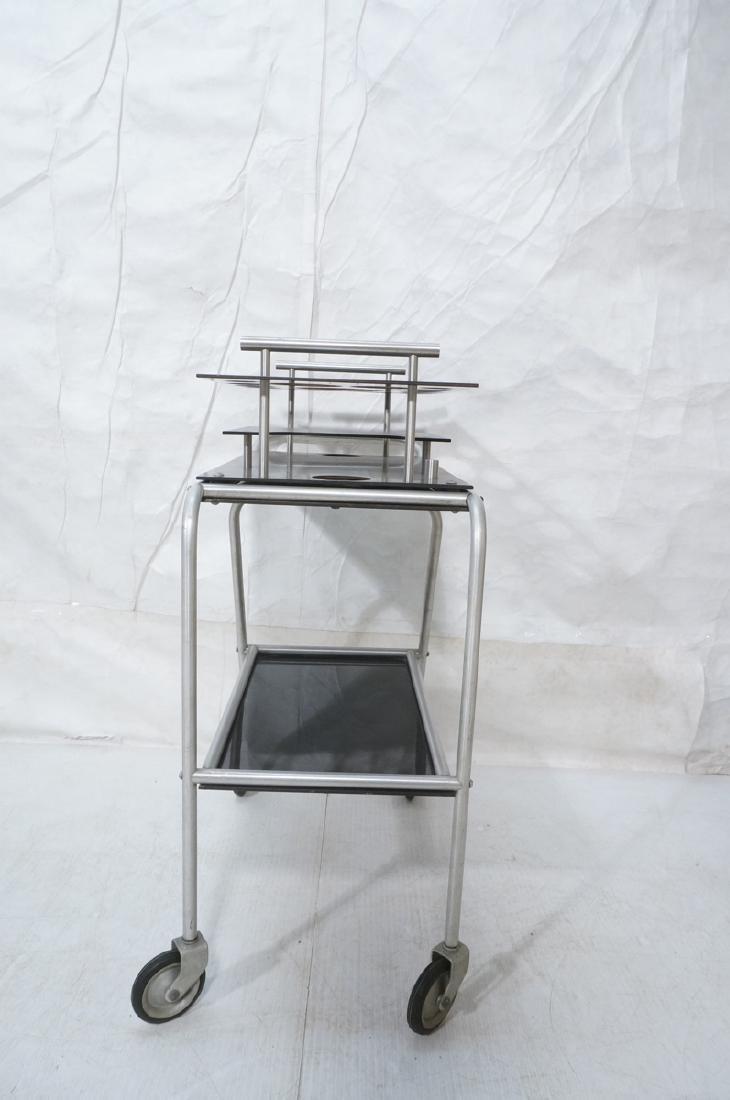 AERO-ART Prod. Retro Aluminum Rolling Bar Cart. A - 3