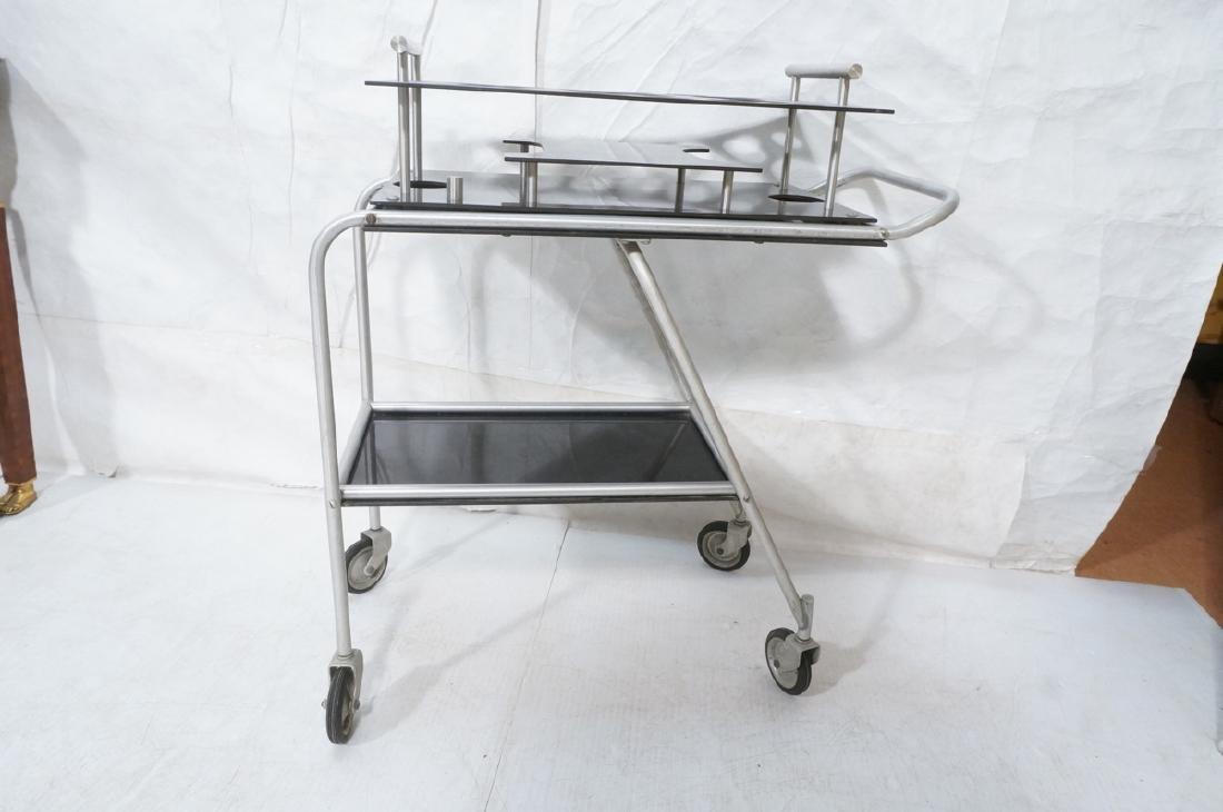 AERO-ART Prod. Retro Aluminum Rolling Bar Cart. A - 4